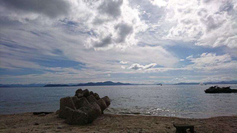 滋賀県近江舞子中浜水泳場